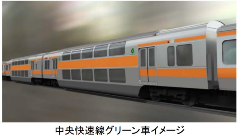中央快速線・青梅線グリーン車のサービス開始時期は2023年度末 普通車にも車内トイレの設置