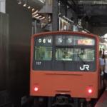 JR西日本 大阪環状線 201系 2019年6月7日に引退
