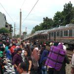 インドネシア・ジャカルタに譲渡された元東急8500系が脱線事故 KRLジャボタベック