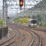 【珍事】JR京都線を1両編成の電車が走る その理由とは?新快速は12両編成なのにどうして?