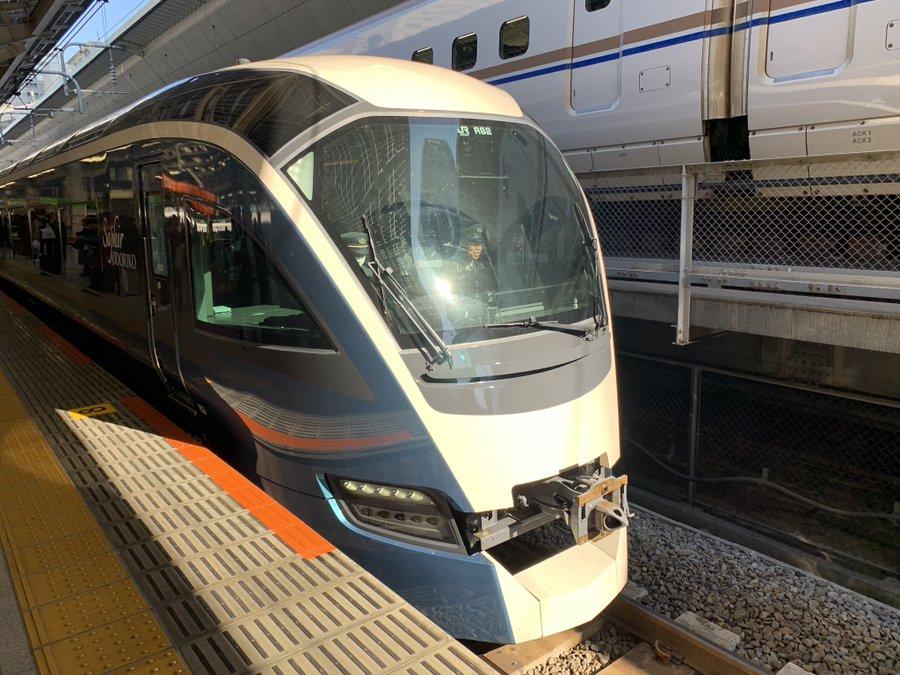 【上野東京ライン初入線】「サフィール踊り子」E261系RS2編成が東大宮車両センターからから品川まで回送