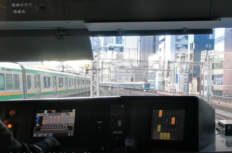 【電車でD?】東海道線と京浜東北線快速の並走バトルを見てきた 京浜東北線が東海道線を追い抜く場面も 運行ダイヤも紹介