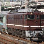 小金井→長野へ廃車回送「スマート電池くん」E995系 EF64-1052がけん引