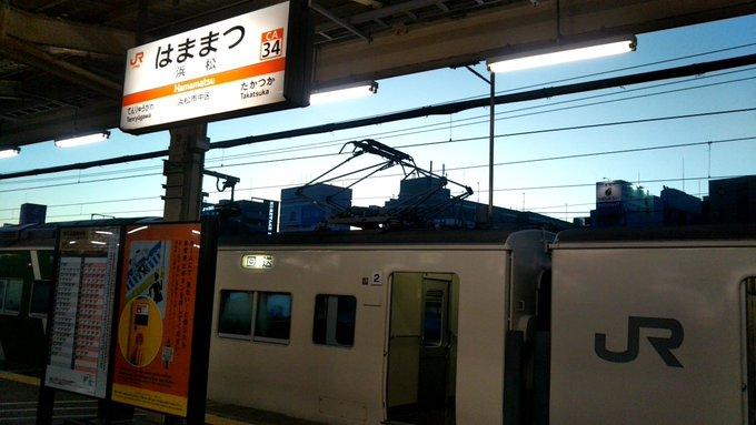 【約3時間40分遅れ】ムーンライトながら 浜松駅で運転打ち切り 東海道線内人身事故の影響で