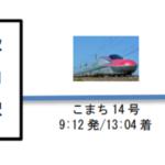 秋田新幹線「こまち」に農産物積載 秋田~東京間で12月運行 大宮駅での催し物に合わせ物流トライアル 日本郵政と連携