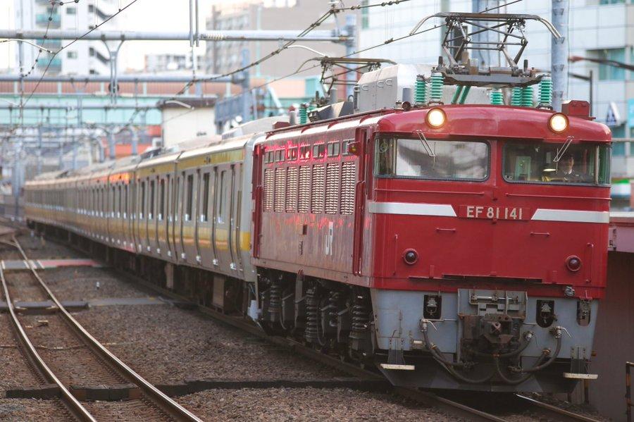 総武線E231系B39編成 武蔵野線転属のためAT入場