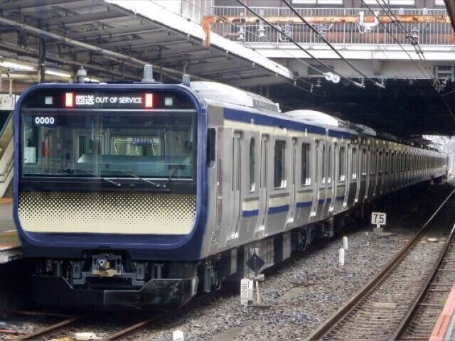 横須賀線E235系 ついに試運転か!?
