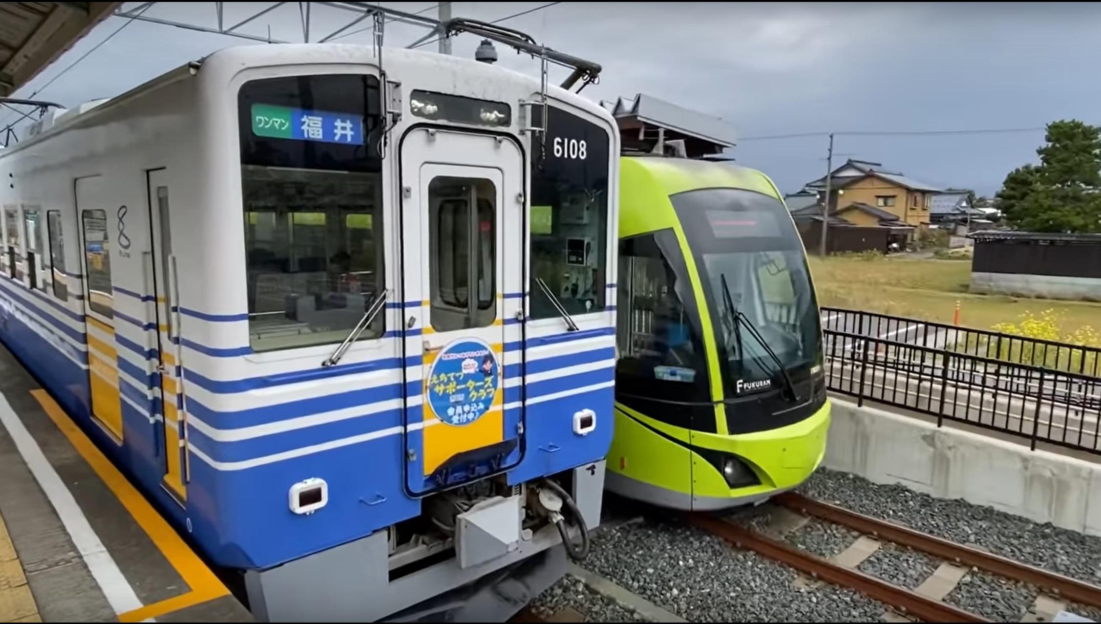 【日本最速!】路面電車が珍しい急行運転!電車線と直通運転する面白い路線