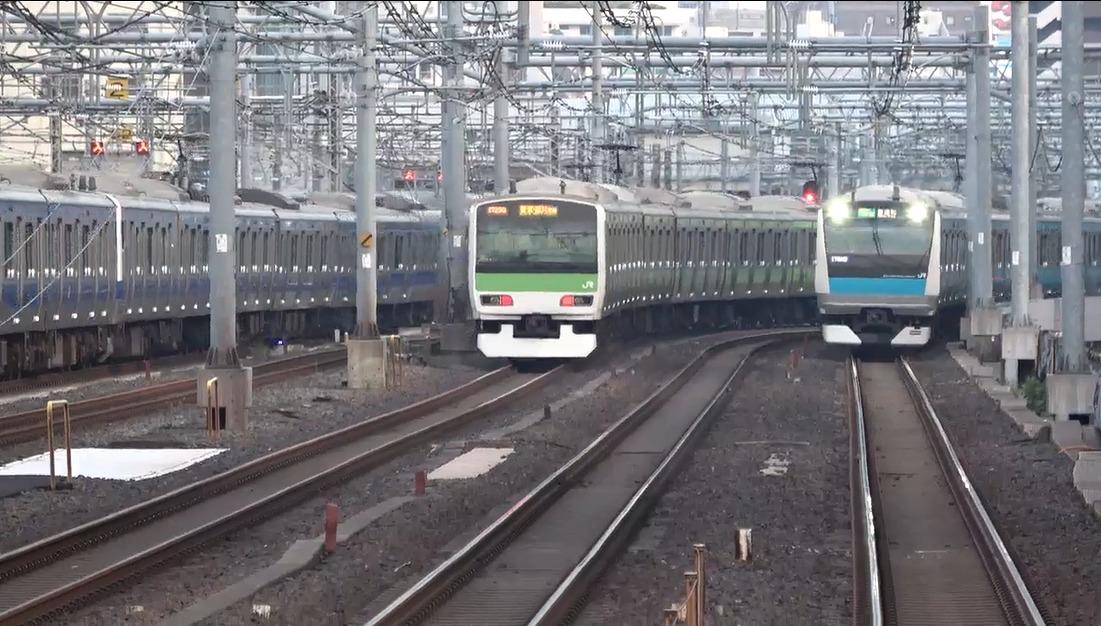 【京浜東北線快速が遅くなった】ダイヤ改正で東海道線と京浜東北線快速の並走バトル無くなる
