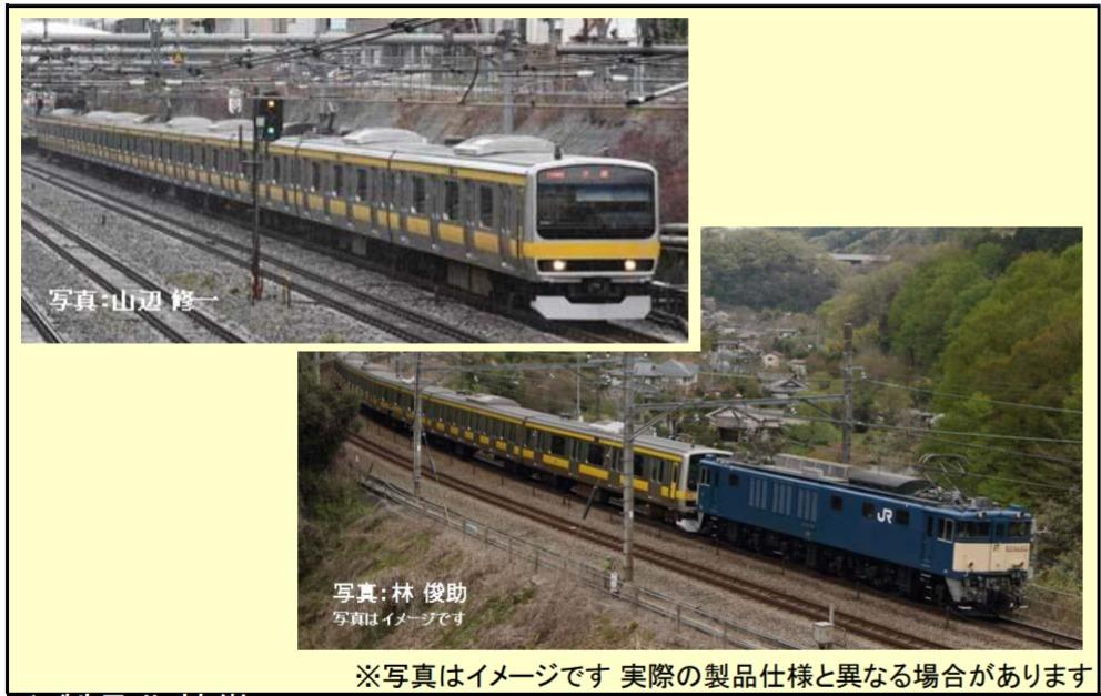 【珍しい配給列車仕様の鉄道模型】トミックス E231系0番台更新車発売