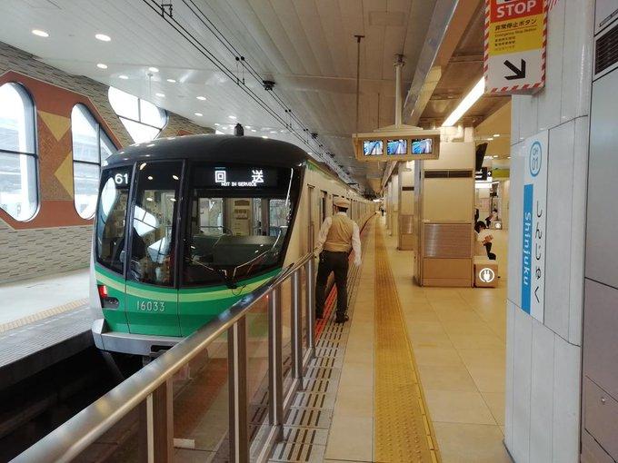 【珍事】小田急新宿駅ロマンスカーホームに千代田線車両が入線