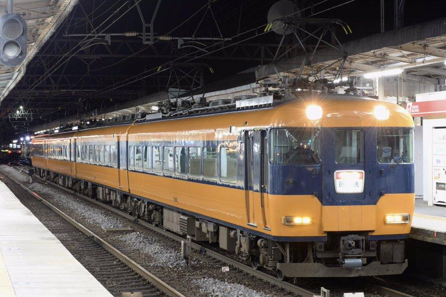 近鉄12200系「12345」の連番 NS45編成が廃車回送 「ひのとり」・「アーバンライナー」車両で置き換えのため
