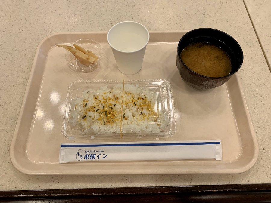 【東横イン】朝食がしょぼくなった(改悪)と話題に ホテルによって朝食のクオリティが異なるという意見も