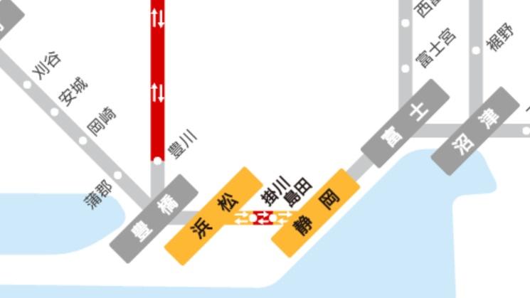 【東海道新幹線】大雨の影響で終電「のぞみ64号」は到着2時半に 静岡-小田原30分で回復運転 サンライズはたどり着けず名古屋で運転打ち切り