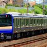 【初の疎開】横須賀・総武快速線E235系1000番台J-02編成 国府津疎開回送