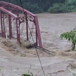 【鉄橋が流失】JR肥薩線の深水橋が川の氾濫で流される