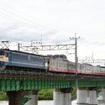 【西武101系甲種】西武多摩川線新101系247F 中央線経由で甲種輸送