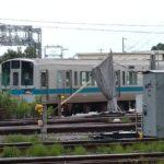 【初の廃車】小田急1000形1081Fがサハ2両を残して解体線へ
