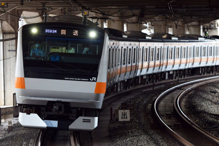 【中央線トプナン】E233系0番台T1編成OM入場 トイレ設置・G車準備工事は行うのか