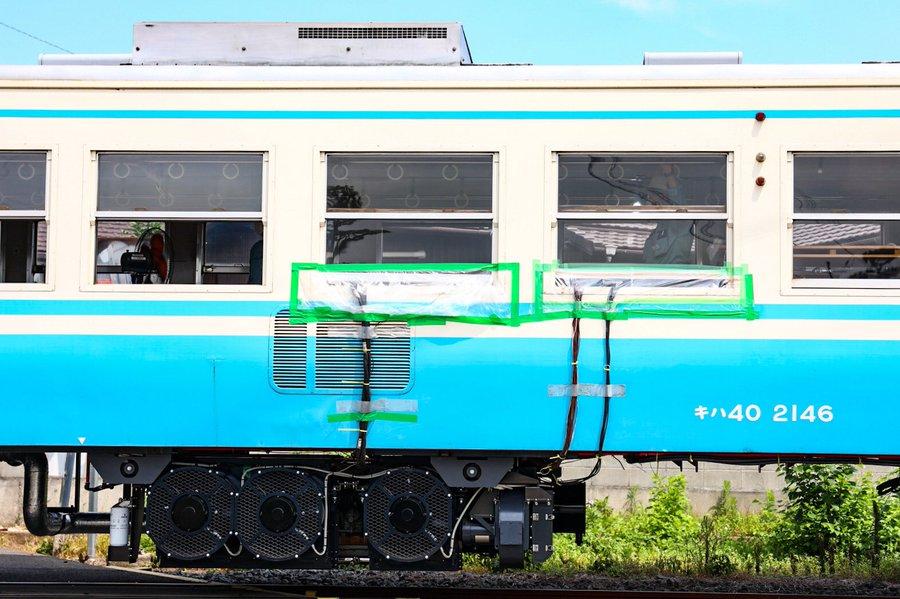 【キハ40系をVVVF化】JR四国が廃車済み車両を魔改造 台車はJR東日本209系を流用 国鉄ハイブリッドになるか解説