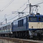 【房総新型車両】E131系R01+R02編成 新津配給輸送