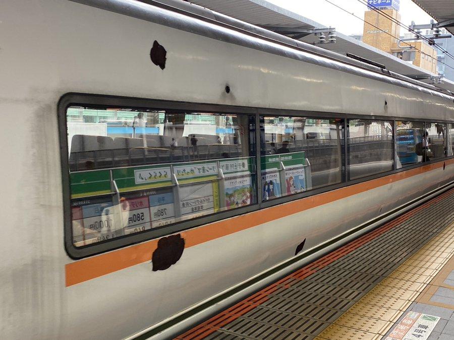 【まるで廃車車両】高崎線特急651系の塗装が剥がれてボロボロに