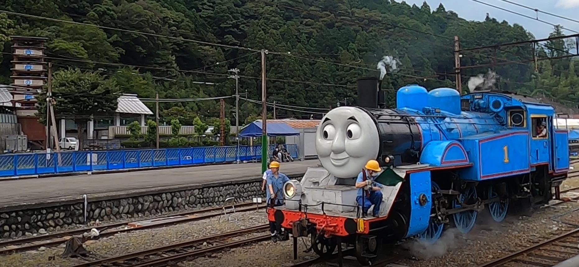 【大井川鉄道】SLトーマス運転区間を新金谷~家山に短縮して2020年最終日まで「往復乗車」で運転へ イベントも一部変更