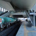 【山梨の高輪ゲートウェイ?】中央本線の竜王駅のホームの雰囲気が似ていると話題に