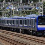 【横須賀・総武快速線】E235系1000番台F-02編成とJ-02編成がそれぞれ疎開先から返却される