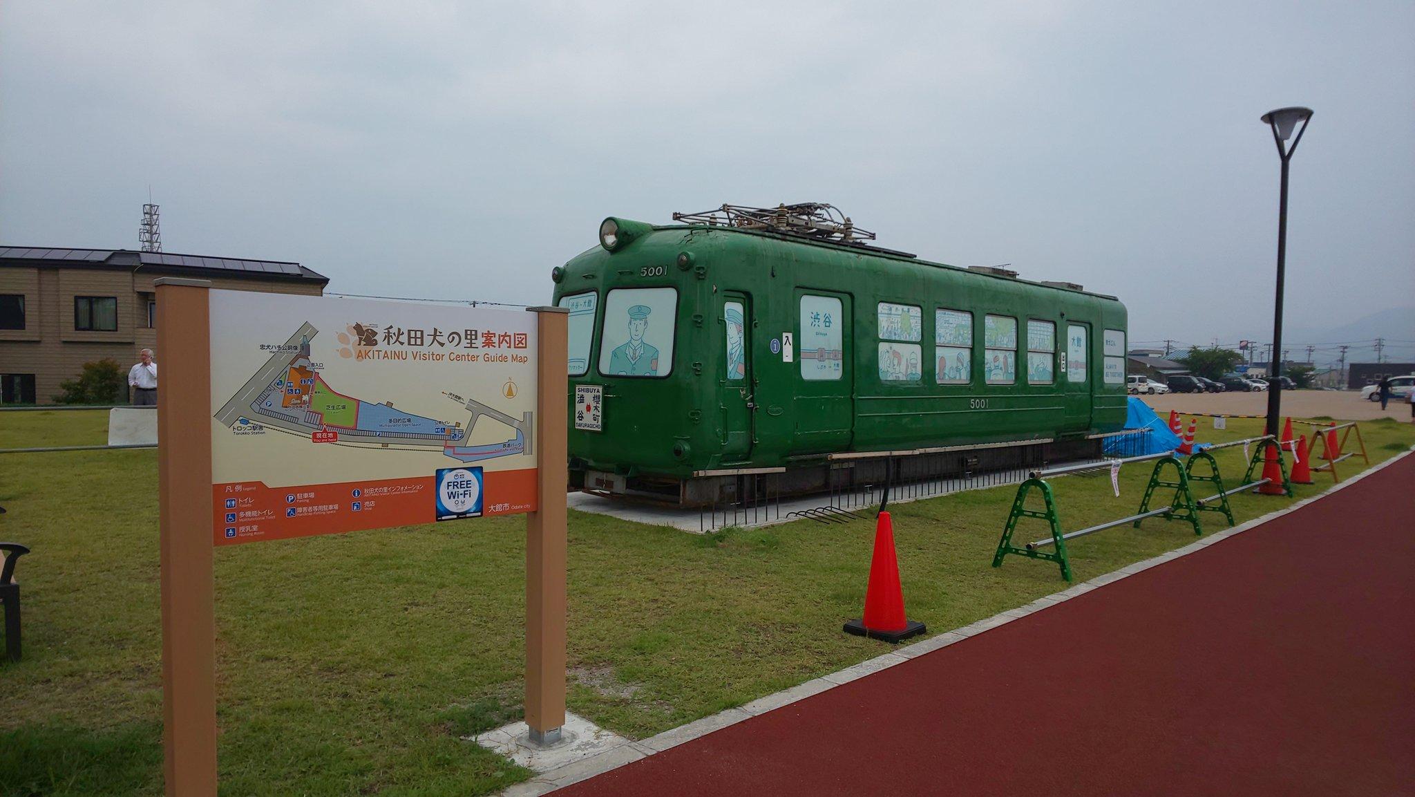 【大都会から田舎へ】渋谷の青ガエルが秋田県大館市に移設完了