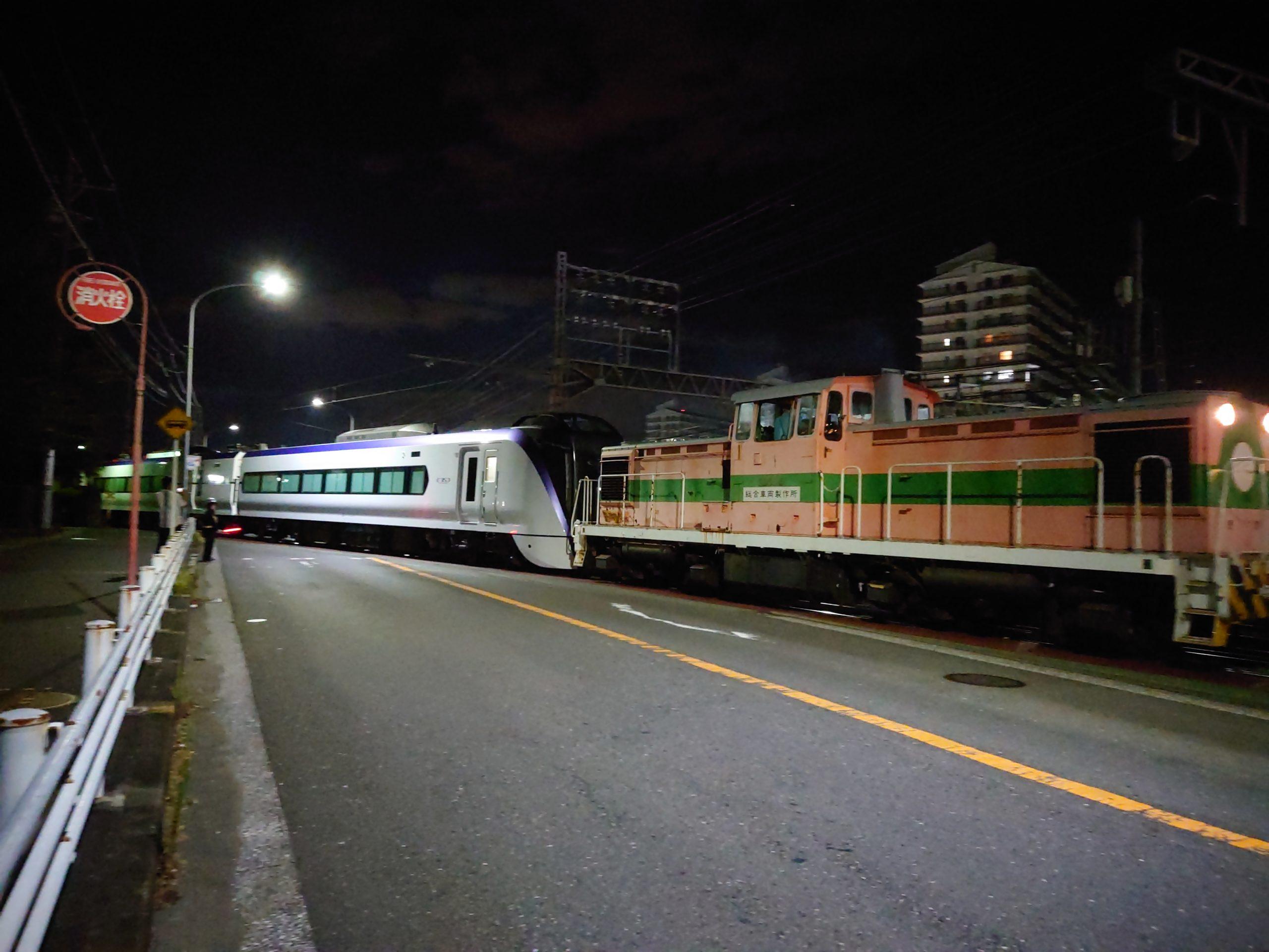 【自走不能から復活】中央線特急E353系の付属編成S206編成がJ-TREC横浜を出場 踏切事故で大破していた