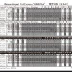 【悲報】関空特急「はるか」日中の運行本数がゼロに 9月から運休が28本から42本に拡大 新車導入もニート状態