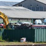 【初の廃車】しなの鉄道115系S23編成がNN解体線に移動 一部部品は撤去済み