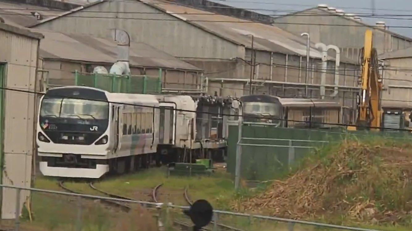 【もったいない】中央線特急E257系0番台モトM-202編成とM-205編成が解体される