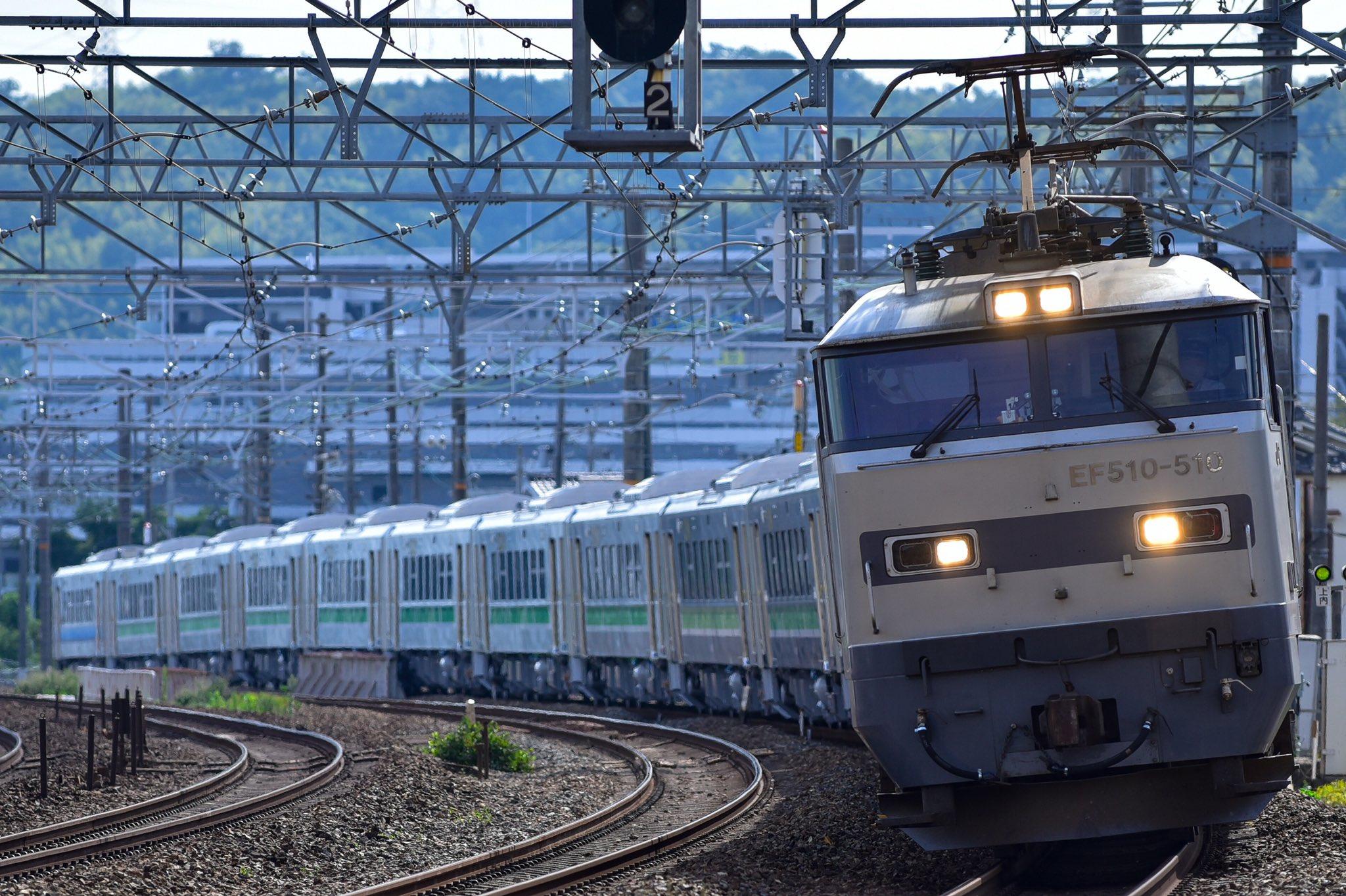 【別会社同士が併結するレア甲種】JR北海道H100形12両+JR東日本GV-E400系甲種輸送 両編成ともキハ40形を置き換える