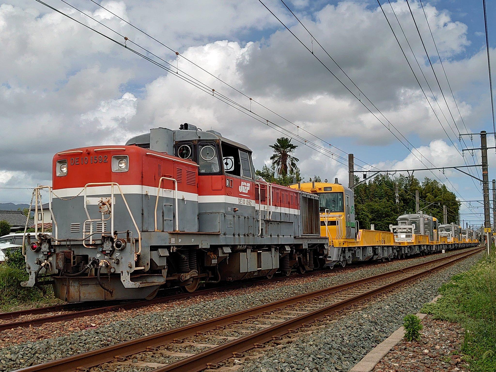 【機関車絶滅の危機】事業用気動車キヤE195系甲種輸送 置き換えで機関車でのレール輸送が見られなくなる 何故嫌われているのか