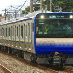 【横須賀・総武快速線】E235系1000番台クラJ-03編成 J-TREC新津出場試運転