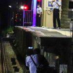 【ここまでして撮影がしたいのか】初代ロマンスカー3000形SEのためにホーム下の線路に降りて撮影する撮り鉄が 駅員からコソコソ身を隠す姿も