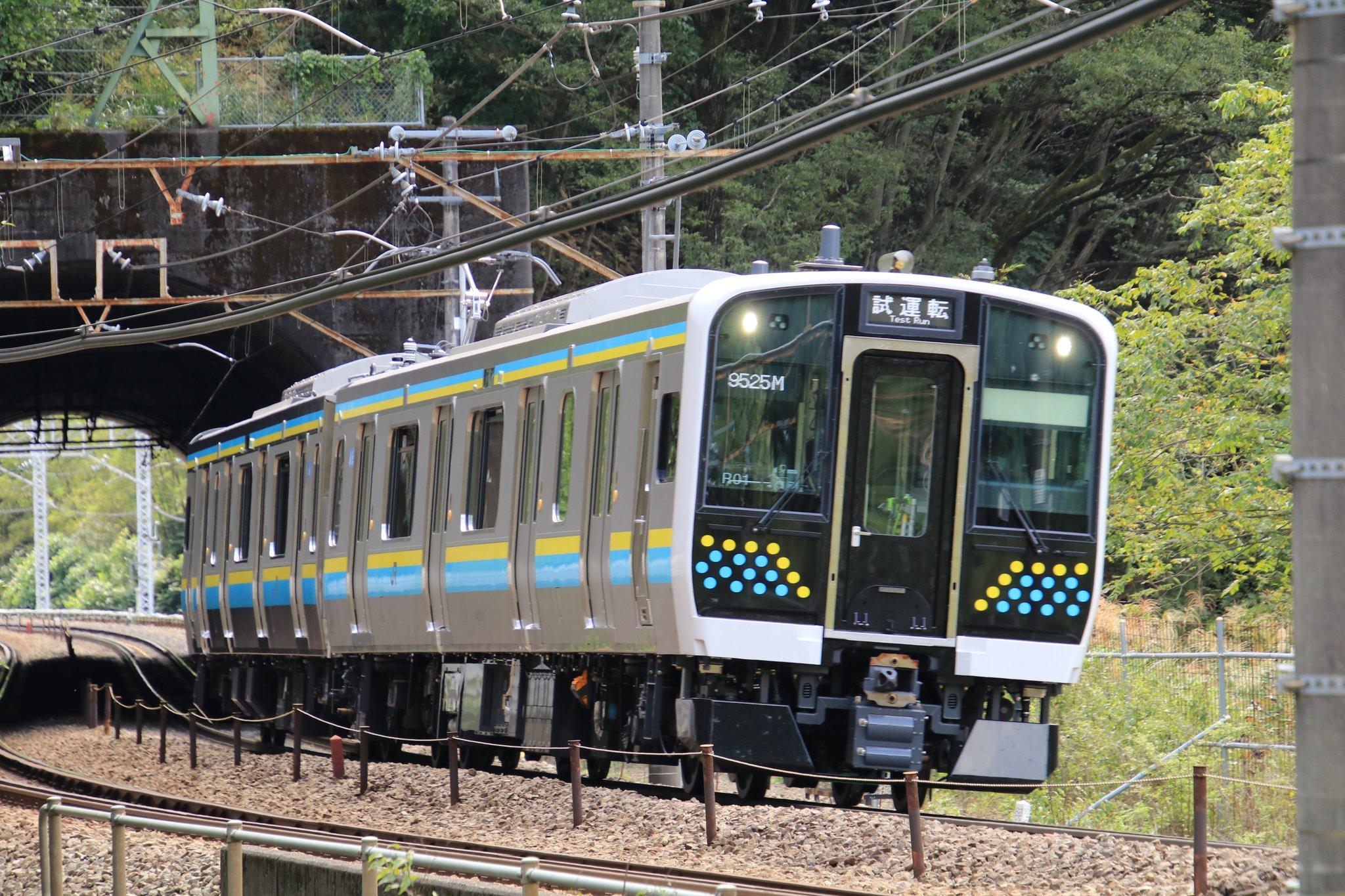 【房総・鹿島エリア向け新型車両】E131系マリR-01編成 中央本線で試運転