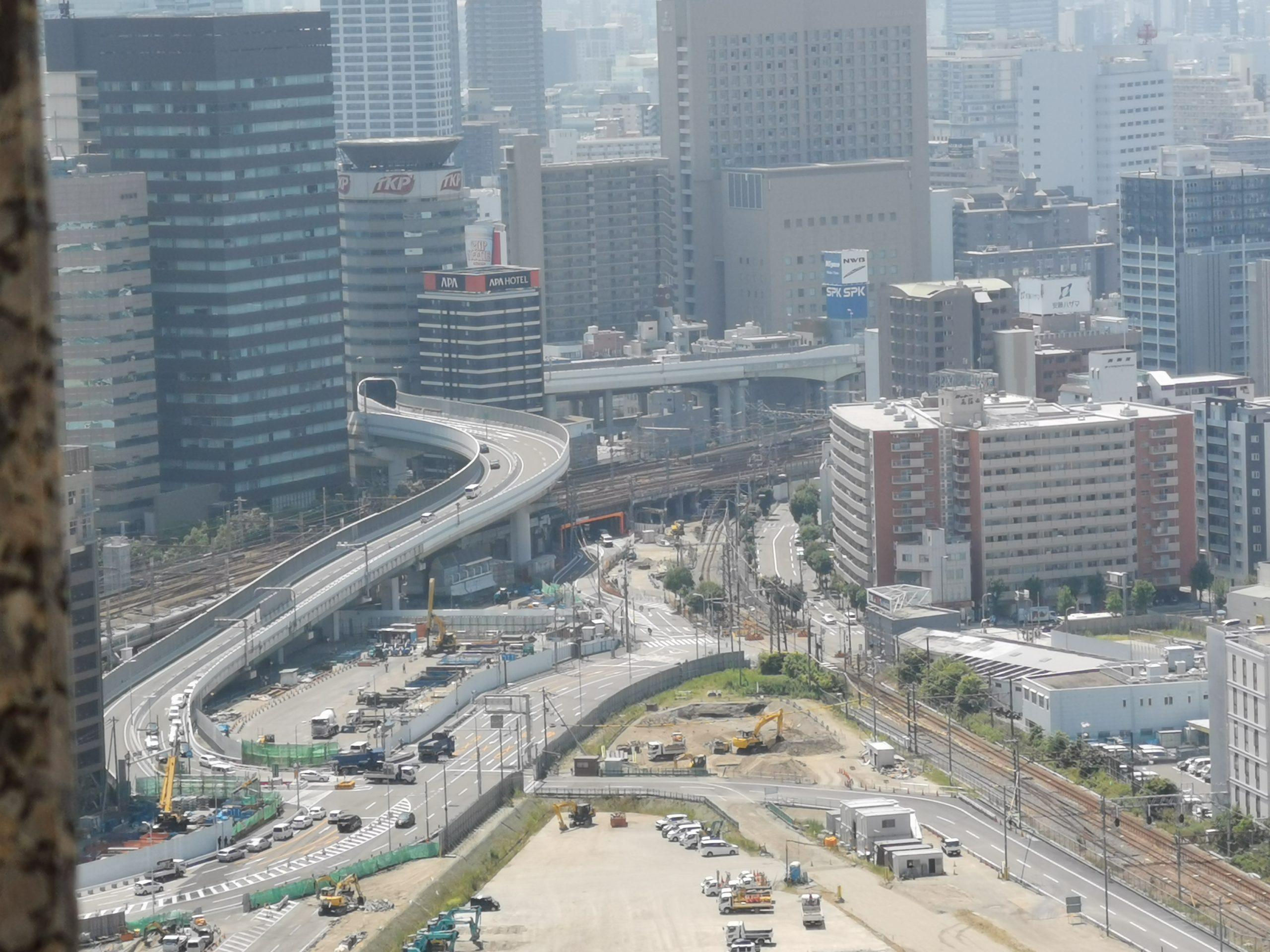 なにわ筋線 大阪(うめきた)駅と旧梅田貨物駅・東海道貨物支線(梅田貨物線)が2023年春に地下化される前に見てきた