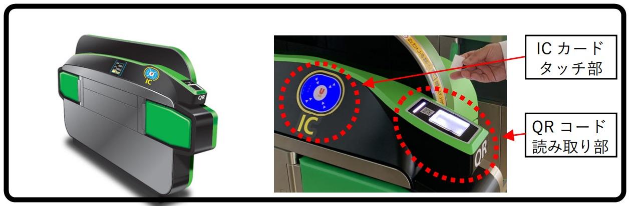 【JR東日本】QRコード改札実証実験開始 新宿駅新南口・高輪ゲートウェイ駅で実施