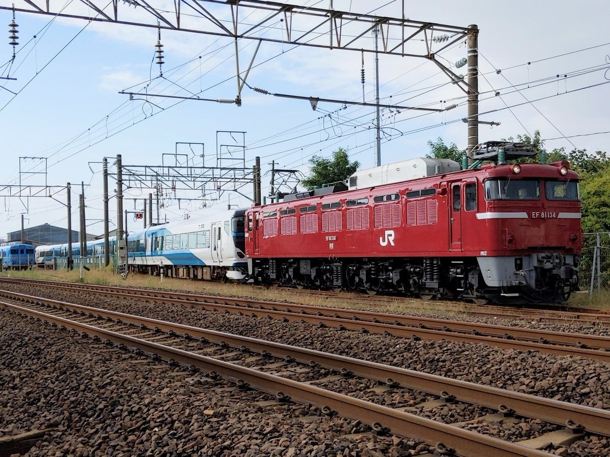 E257系2500番台オオNC-31編成 秋田総合車両センター出場配給