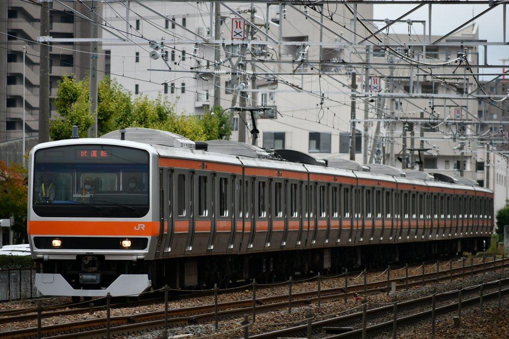 【ネタ編成】E231系元マト118編成 武蔵野線への転属改造を終えNN出場回送 E231系の転属はこれで見納め