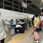 【当該はN700S】東海道新幹線運転見合わせ 女性が物を落として線路に立ち入る