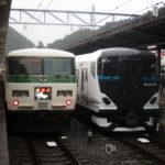 【駿豆線再び】E257系2500番台オオNC-32編成が初の試運転 伊豆箱根鉄道駿豆線に入線