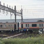 【新旧16両編成】武蔵野線205系M20編成+E231系MU38編成 最後のジャカルタ配給に向けて構内入換