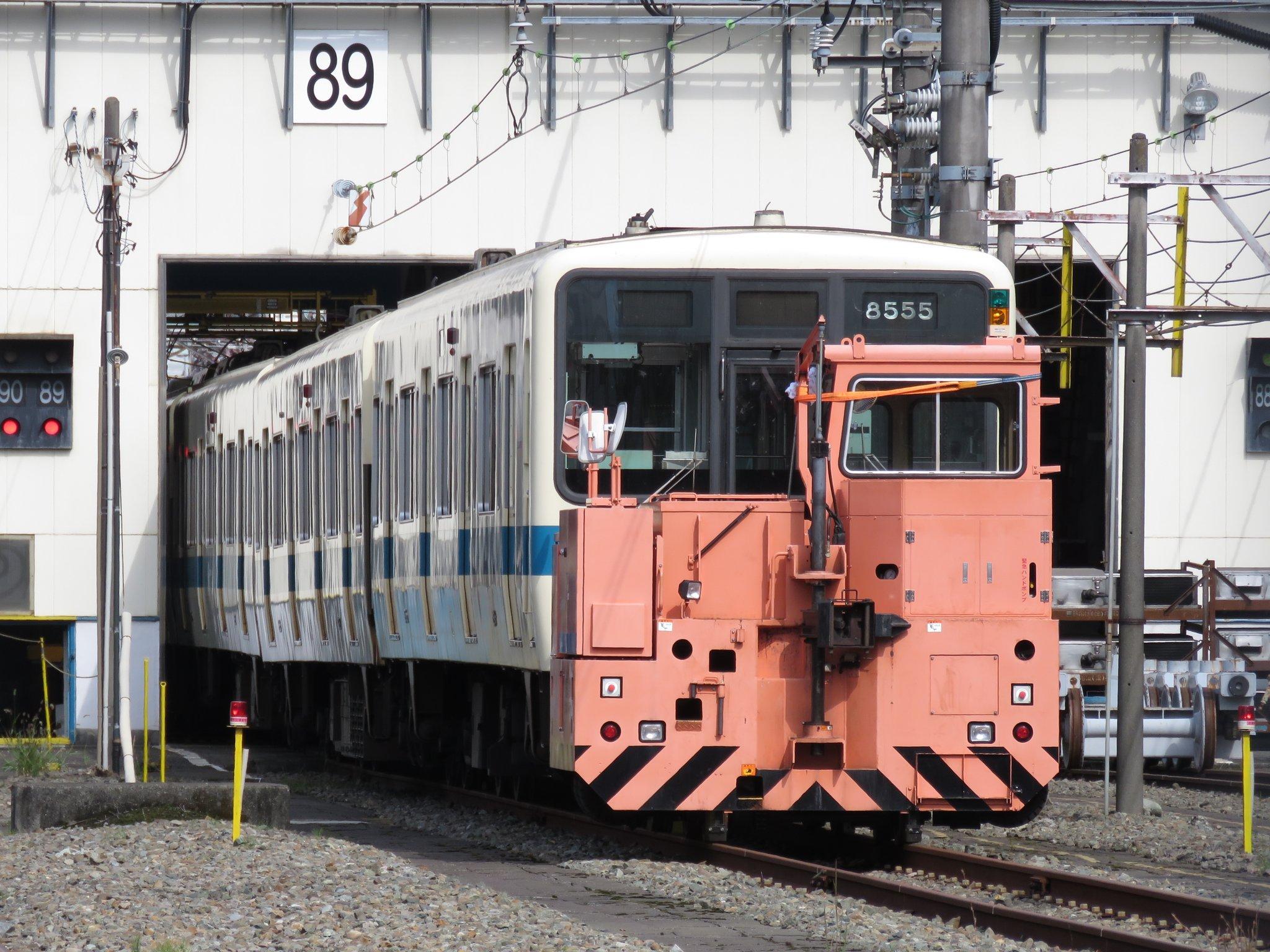 【初の廃車】休車明けの小田急8000形8255Fが廃車に 既にクーラーなどが撤去済み