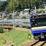 【快速 成東】E235系1000番台クラF-01編成 総武本線で案内走行試験
