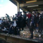 【悲惨な前回よりもさらに悪化】検見川浜は撮り鉄により大荒れ 危険なひな壇が構築 205系配給狙い