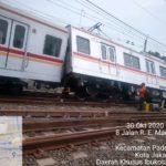 【立て続けに2件も事故が】元メトロ6000系6130Fがカンプンバンタン駅で脱線 元205系M23編成が橋にぶつかり屋上機器損傷も